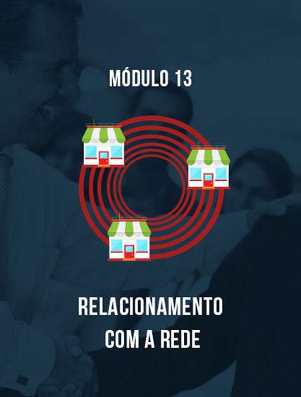 Módulo 13 – Relacionamento com a Rede